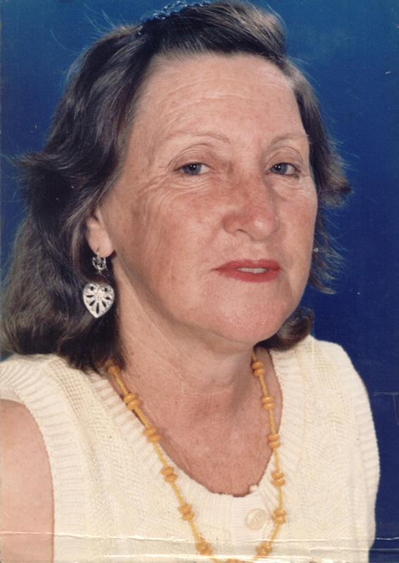 Ana em 1998, ano em que faleceu