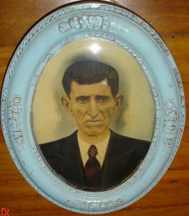 Angelo Cavallaro, em foto é o mais antigo ancestral da família Cavallaro