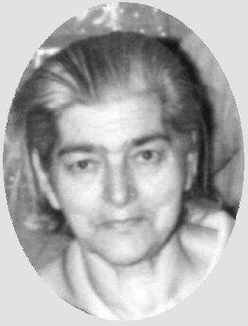 Francisca em foto de 1972