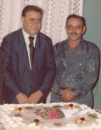 João Ruiz e João Cavallaro no casamento da Ivete, irmã da Glacy
